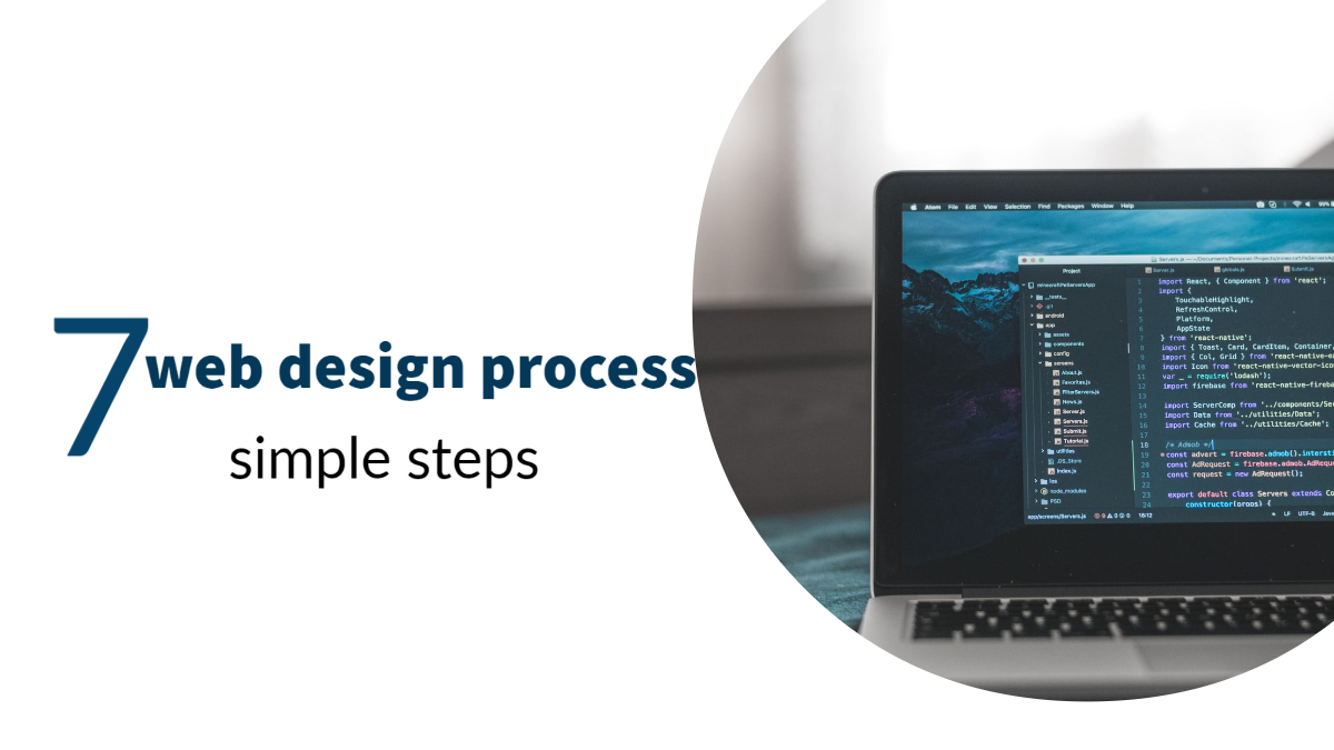 web design process in 7 simple steps