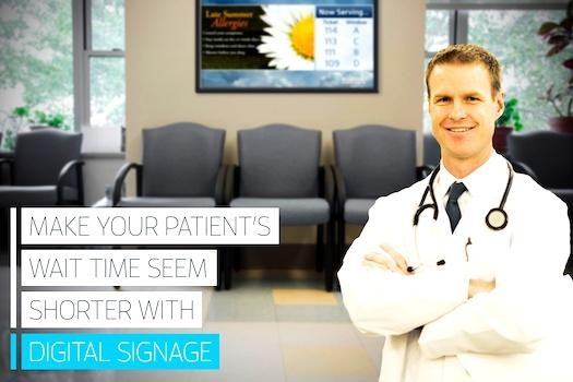 How Doctors Offices Can Captivate Their Patients in the Lobby with Digital Signage