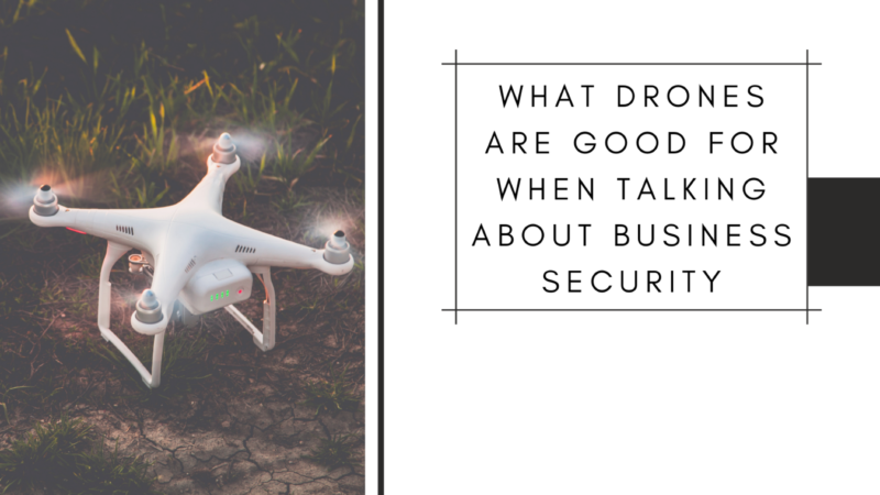 What Drones Are Good for When Talking about Business Security