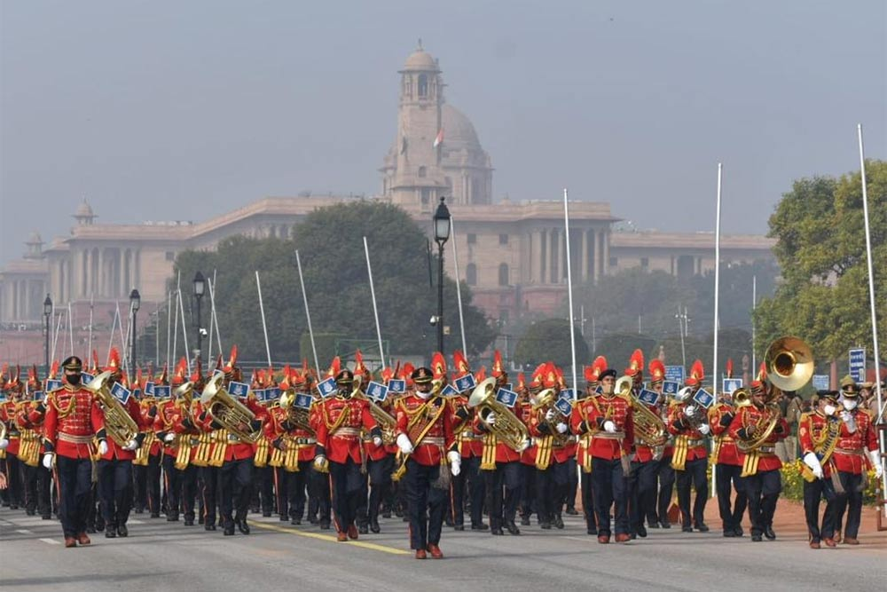 Where is the Republic Day Parade in India 2021