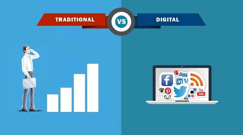 Why you Should Consider Digital Marketing over Traditional Marketing