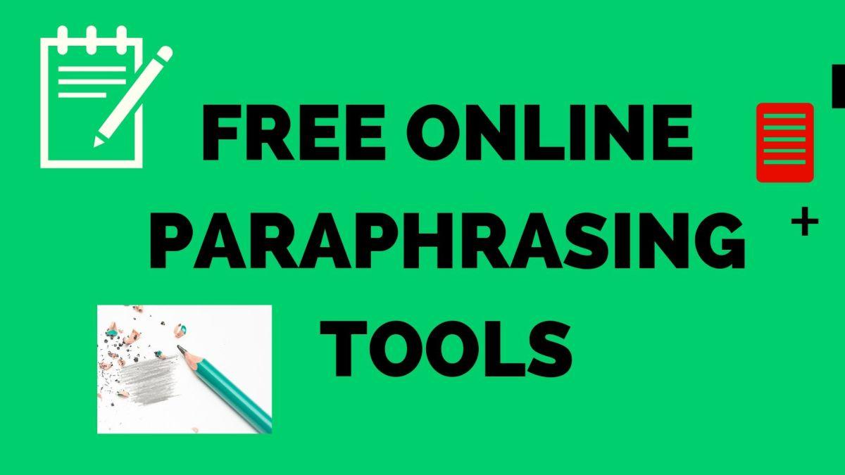 Online paraphrasing and Summarizing Tool